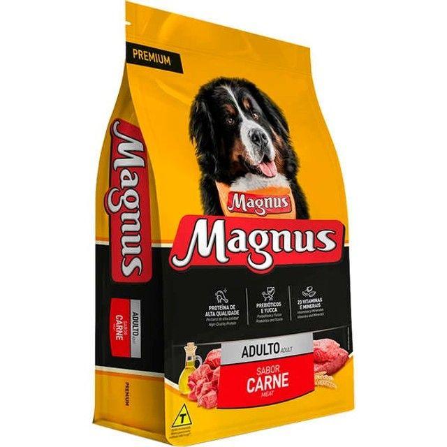 Magnus Premium Carne  Cães Adultos 10,1 kg por 70,00