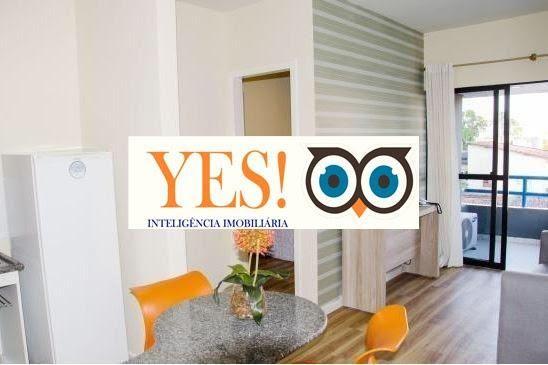 Apartamento Flat para Venda no Classe Apart Hotel - Ponto Central - Foto 3