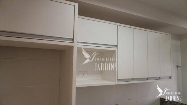 Apartamento com 3 dormitórios para alugar, 70 m² por r$ 1.400,00/mês - centro - londrina/p - Foto 12