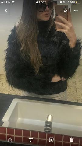 Alugo casaco de pele
