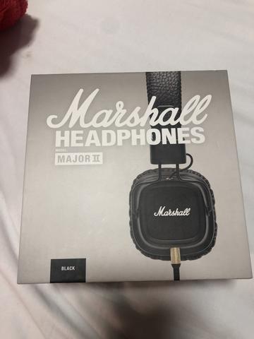 Fone Marshall Major 2 - Original Lacrado