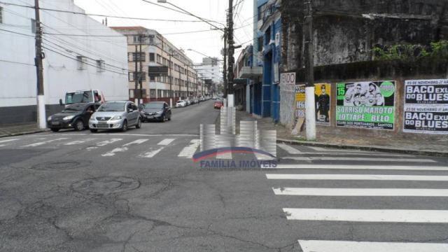 Terreno à venda, 420 m² por R$ 750.000,00 - Vila Matias - Santos/SP