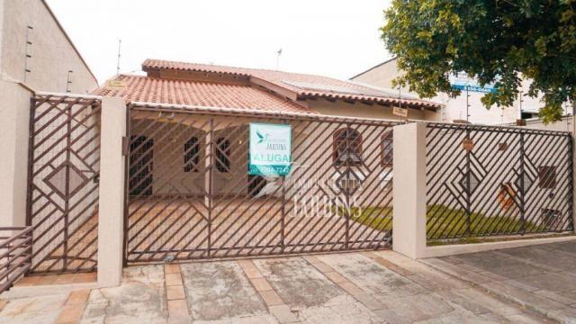 Casa com 3 dormitórios para alugar, 200 m² por r$ 2.100,00/mês - novo aeroporto - londrina