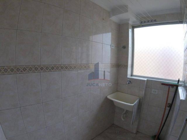 Apartamento com 2 dormitórios para alugar, 52 m² por r$ 1.350/mês - parque são vicente - m - Foto 9