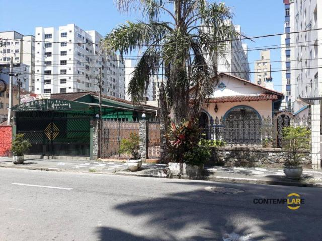 Terreno à venda, 1238 m² por r$ 5.600.000,00 - centro - são vicente/sp - Foto 2