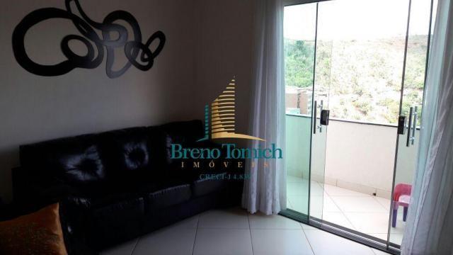 Cobertura com 3 dormitórios à venda, 313 m² por r$ 830.000 - ipiranga - teófilo otoni/mg - Foto 7