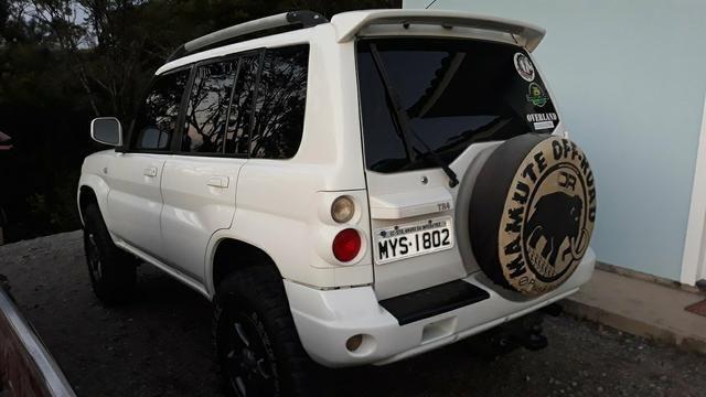 TR4 2007 manual pneus 235 75 16 e lift de suspensão - Foto 2