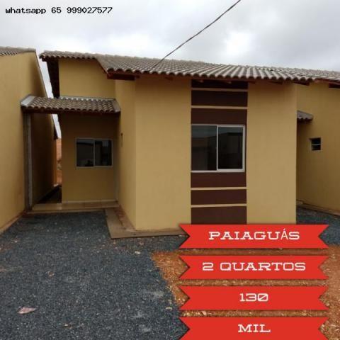 Casa para venda em várzea grande, paiaguas, 2 dormitórios, 1 suíte, 2 banheiros, 2 vagas - Foto 11