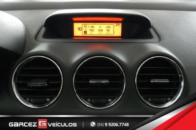 Peugeot 308 1.6 Active Flex Manual Com Teto Leds Diúrnos Couro Multimídia Top - Foto 12