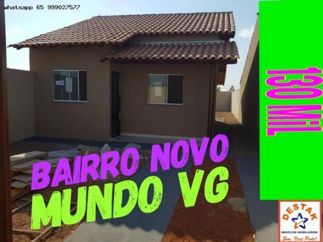 Casa para venda em várzea grande, paiaguas, 2 dormitórios, 1 suíte, 2 banheiros, 2 vagas - Foto 6