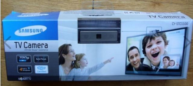 Câmera Para Smart Tv Samsung Skype Cy-stc1100