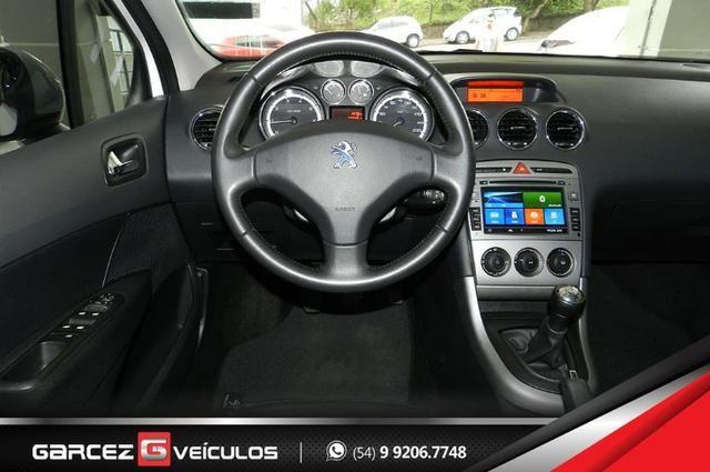Peugeot 308 1.6 Active Flex Manual Com Teto Leds Diúrnos Couro Multimídia Top - Foto 11