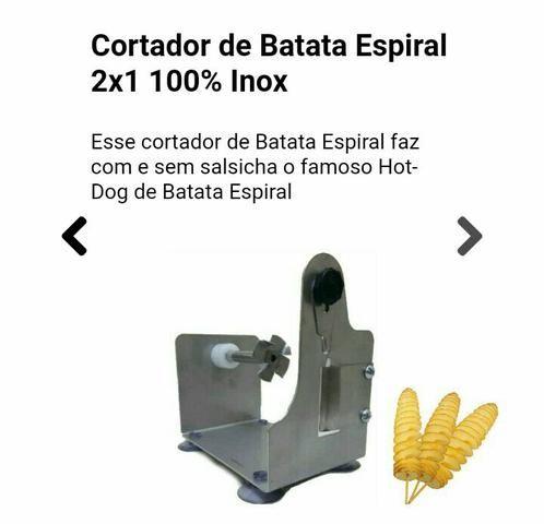 Máquina de Batata Espiral/BlackFriday