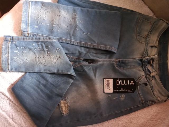 Calça jeans D'Lui - Foto 3