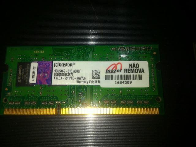 Memória 4GB Notebook - Foto 3