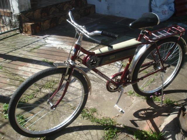 Bicicleta Caloi Barra Forte das antigas - Foto 4