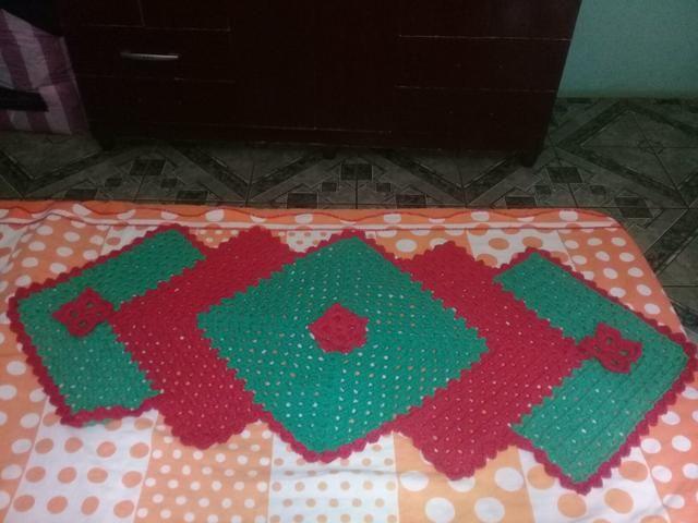 Tapetes de crochê - Foto 5