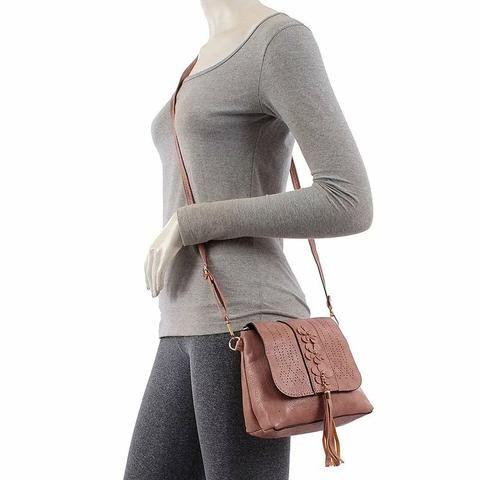 Bolsa feminina tiracolo - Foto 2