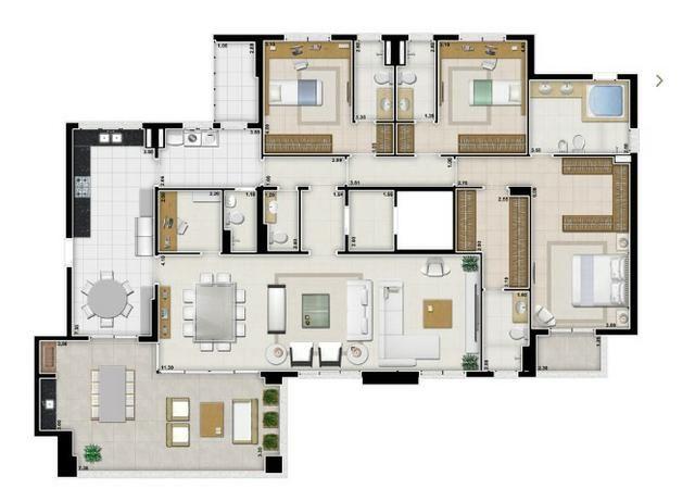Apartamento loc alto padrão - Foto 2