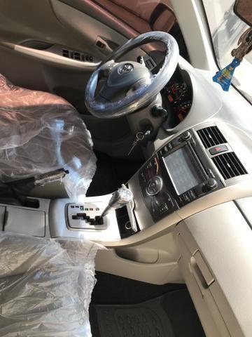 Corolla 11 AUTOMÁTICO com kit multimídia e bancos em couro legítimo - Foto 6