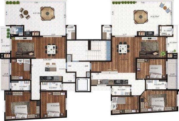 Apartamento à venda com 3 dormitórios em Colina sorriso, Caxias do sul cod:11348 - Foto 6