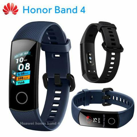 Pulseira Sports Huawei Honor Band 4 Original Amoled para Android e IOS