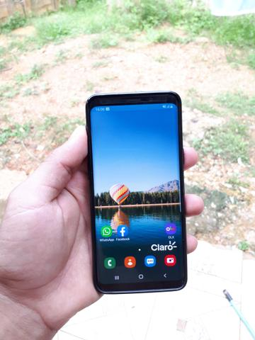 S9 128 gigas vendo ou troco por iphone 7 plus