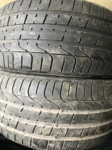 4 pneus 235 40 18 SEMI NOVOS 90% DE BORRACHA RUNFLET - Foto 2