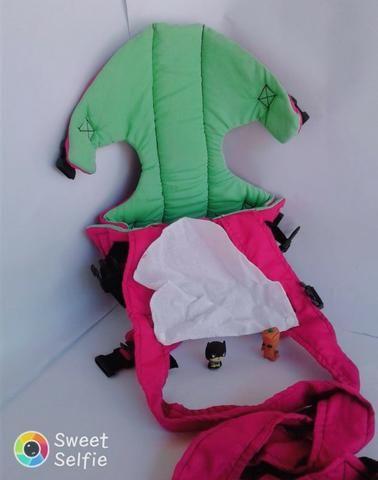 Mamãe Canguru Pink Misto Lindo Gracinha Beybe - Foto 5