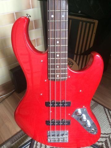 Baixo giannini jazz bass 4 cordas - Foto 3
