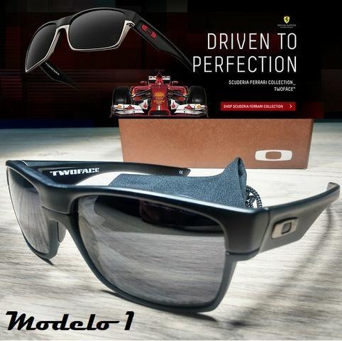 Óculos Oakley TwoFace 100% Polarizado - Bijouterias, relógios e ... 8338d2ee58