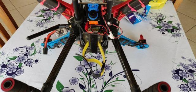 Drone S500 Pixhawk + Câmera + Osd + Telemetria + 4 Baterias