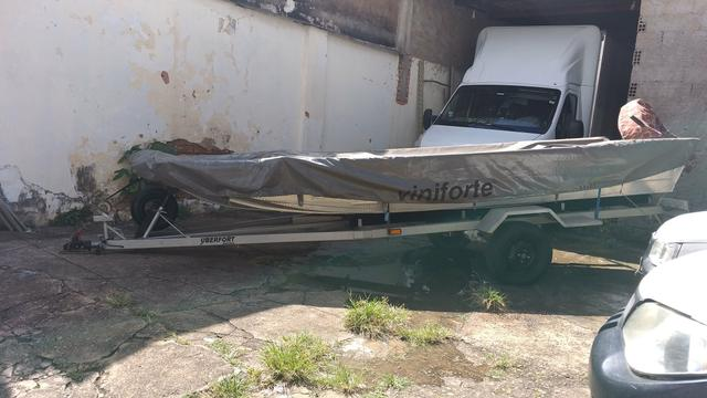 Canoa motor carreta capa - Foto 7