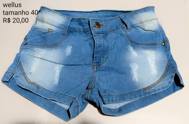 6798cb74f5 Bermudas novas PROMOÇÃO R 30. R  30 · Bermuda Jeans Wellus