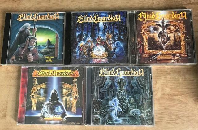 Cds de Heavy metal/Hard rock, etc. Lista na descrição - Foto 6