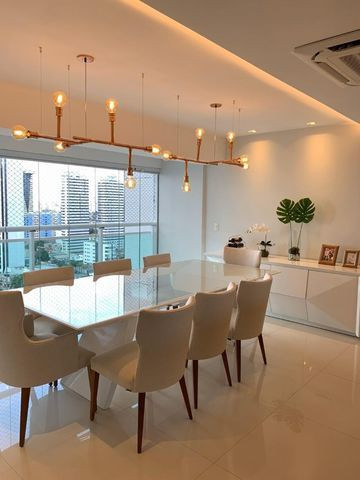 Vende-se Maravilhoso Apartamento no Ed. Mirage Bay com 4 suítes, 3 vagas - Foto 5
