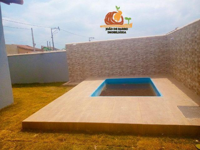 Casas em Unamar Tamoios Cabo Frio com piscina e churrasqueira - Foto 9