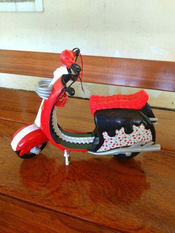 Bicicleta Barbie + Moto Monster Hugh - Mattel - Foto 5