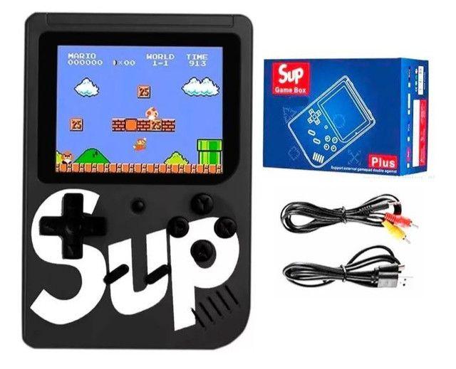 Mini Game Retrô Portátil 400 Games + Conexão P/ Tv