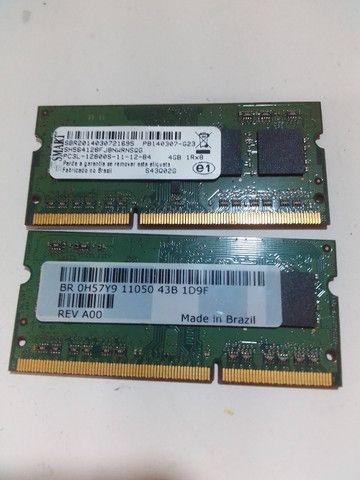 2 x Memória RAM 4GB 1x4GB Smart DDR3