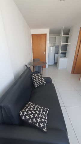 009L - Apartamento tipo flat para alugar, 1 quarto, Mobiliado, lazer, em Boa Viagem - Foto 8
