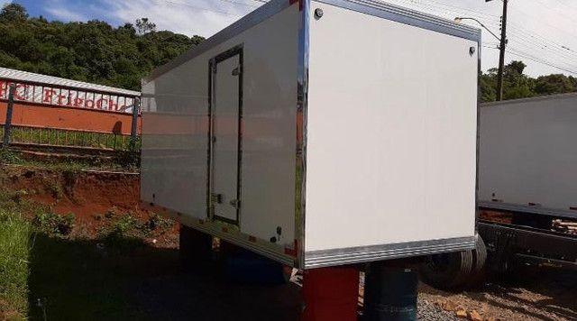 bau de fribra para caminhoes 3/4 novos usados e remanu Mathias implementos  - Foto 5