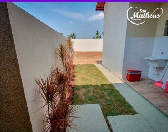 Residencial San Matheus: casa nova de 3 quartos com amplo quintal - Foto 2