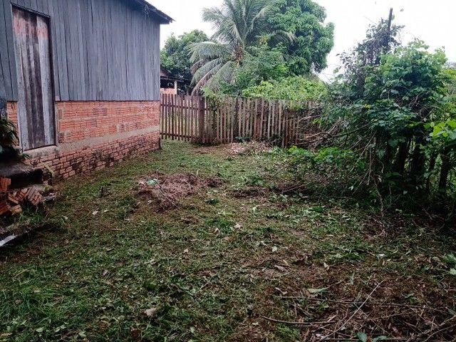 Verde_se está casa na vila acre aceito troca em gado ou uma casa no João Eduardo - Foto 5