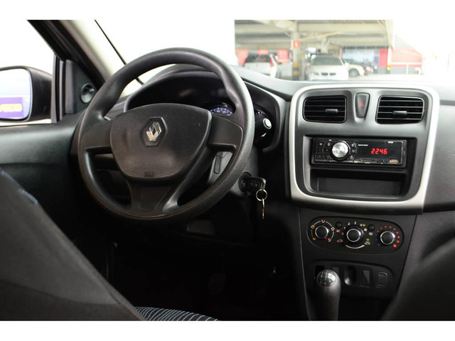 Renault Logan Authentique Hi-Flex 1.0 16V 4p - Foto 8
