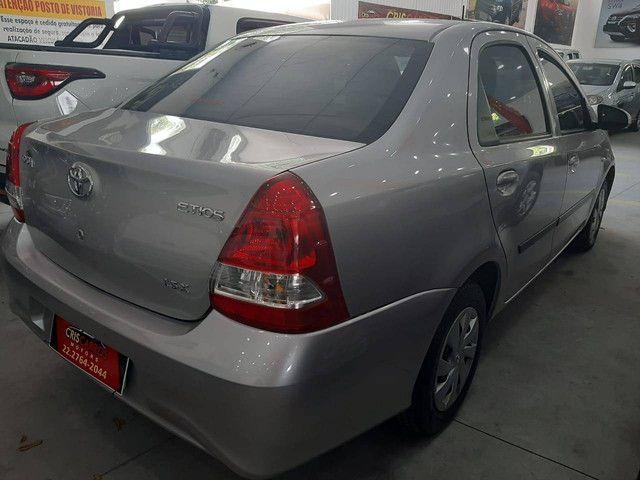 Etios 2018 1.5 X Sedan, flex, automático  - Foto 3