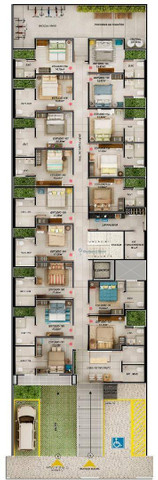 Códz: FL0001 - Flat, Bessa, Financiamento direto com a construtora em 70 meses - Foto 7