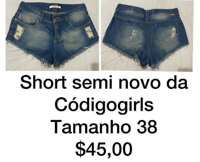 Short e saia  - Foto 4