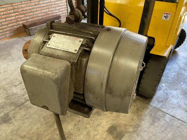 Motor trifásico Toshiba 7,5hp - Foto 2