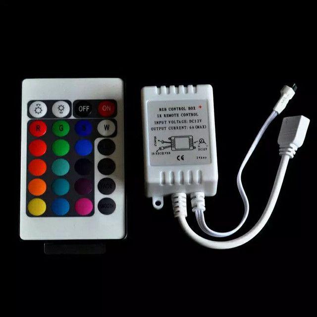 Controladora e controle fita led